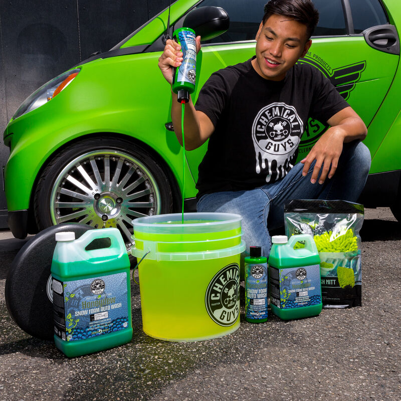 Chemical Guys Heavy Duty Detailing Bucket - Clear