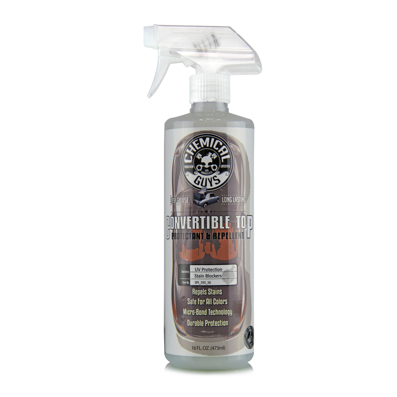 Convertible Top Protectant and Repellent