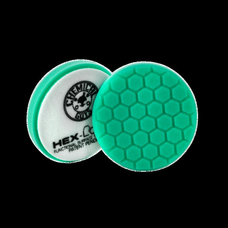 Green Hex-Logic Heavy Polishing Pad
