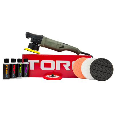 TORQ 10FX Random Orbital Polisher Kit (10 items)
