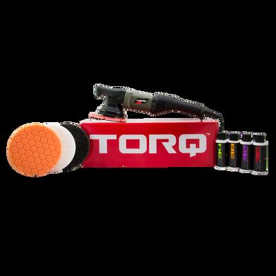 TORQ TORQ22D Random Orbital Polisher Kit (9 Items)