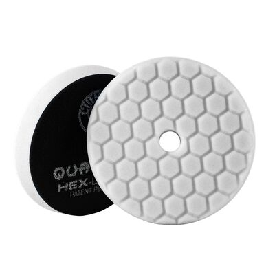 White Hex-Logic Quantum Light-Medium Polishing Pad