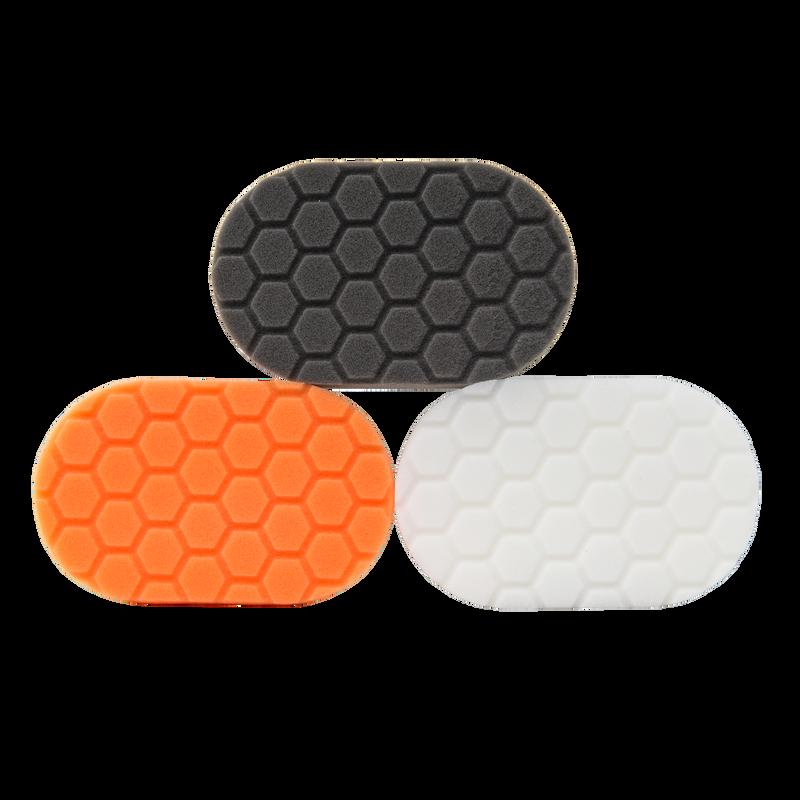 Hex-Logic Hand Polishing Applicator Pads Kit - 3 Pack