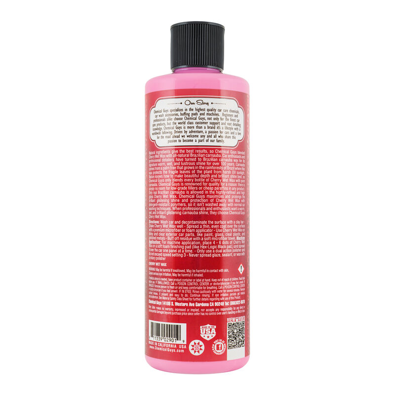 Cherry Wet Wax Brilliant Glistening Shine Carnauba Wax