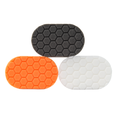 Hex-Logic Hand Polishing Applicator Pads Kit - 3 Pack