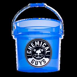 Heavy Duty Detailing Bucket, Blazing Transparent Blue