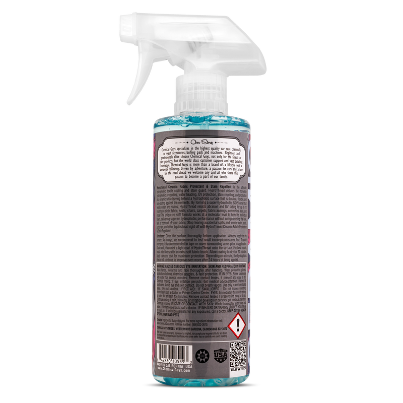 HydroThread Ceramic Fabric Protectant & Stain Repellent