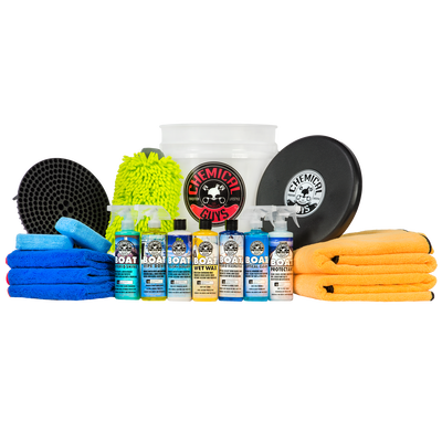 Complete Boat & Marine Detailing Kit (15 Items)