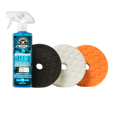 Hex-Logic Buffing Pad Sampler Kit (4 items)