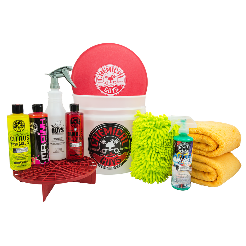 Best Car Wash Bucket Kit - Car Wash & Cleaning Kit