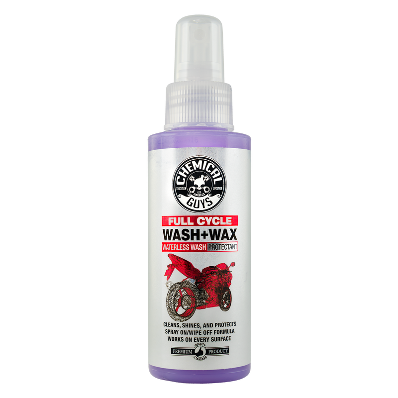 Full Cycle Waterless Wash & Wax For Motorcycles - Chemical Guys