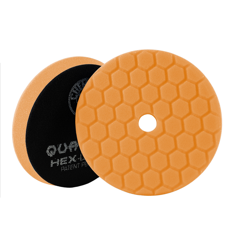 Orange Hex-Logic Quantum Medium-Heavy Cutting Pad