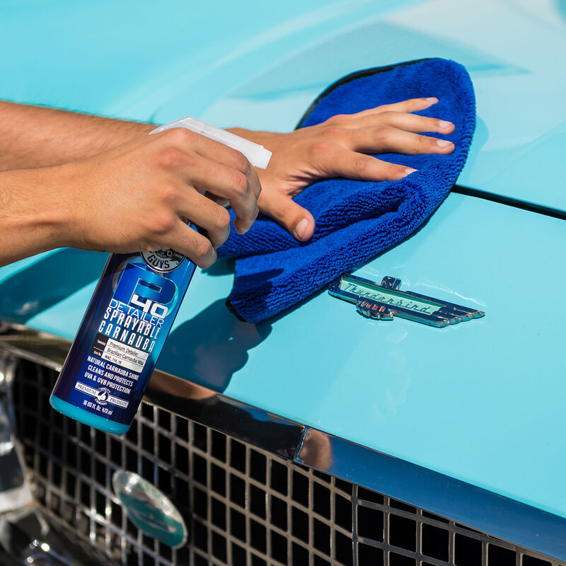 P40 Quick Detail Spray with Brilliant Natural Carnauba Shine