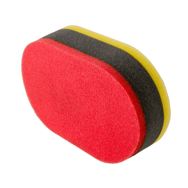 Tri-Color Dual Purpose Applicator Pad