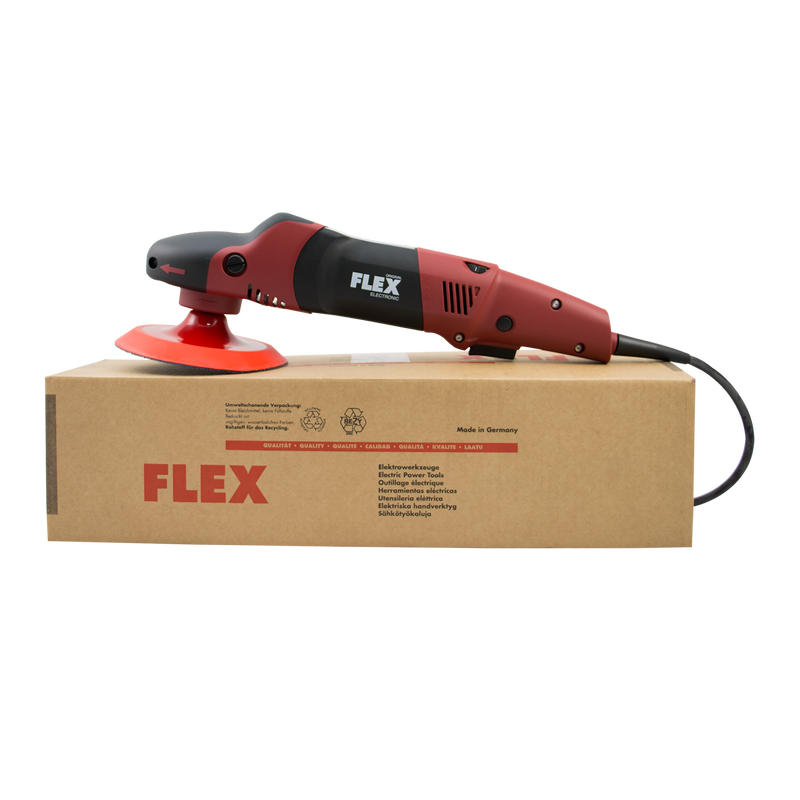 Flex PE14-2 Rotary Polisher with Free TORQ Backing Plate