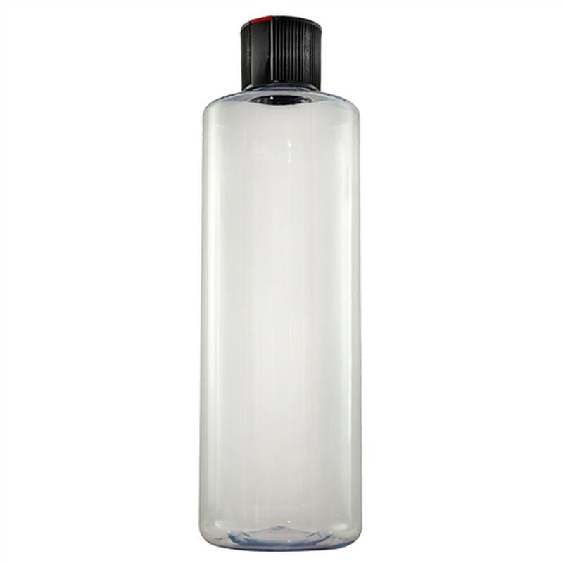 Clear Secondary Bottle w/ Black Spout