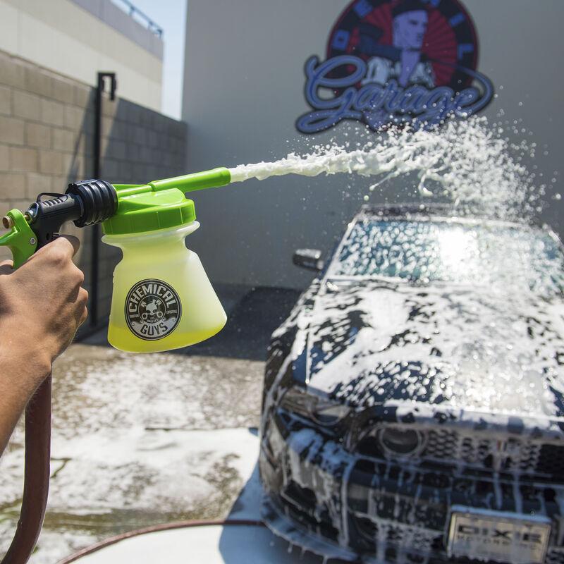 TORQ Snow Foam Blaster R1 Foam Gun & Mr. Pink Super Suds Shampoo (16 oz)