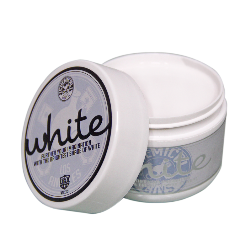 White Wax for White and Light Colored Cars