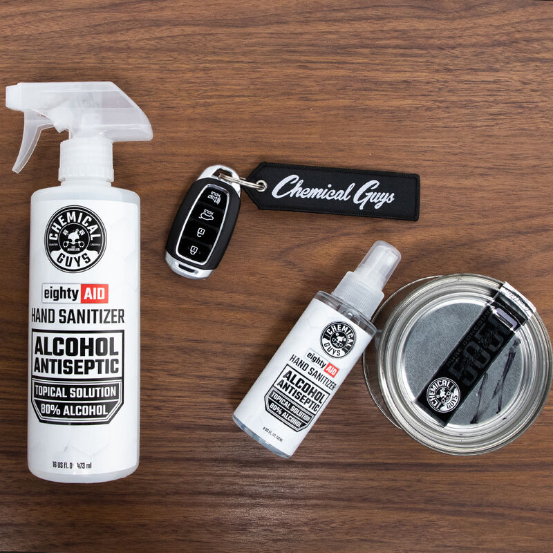 EightyAID Hand Sanitizer Alcohol Antiseptic 80% Topical Solution