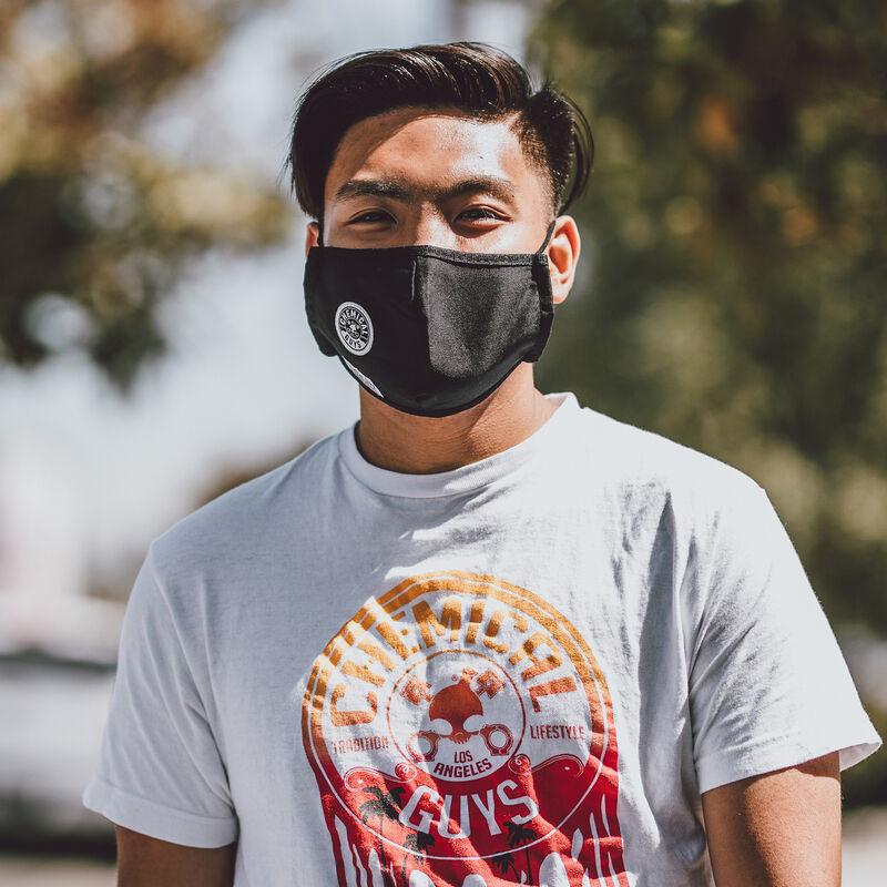 Chemical Guys Black Cotton Non-Medical Face Mask slider image 8