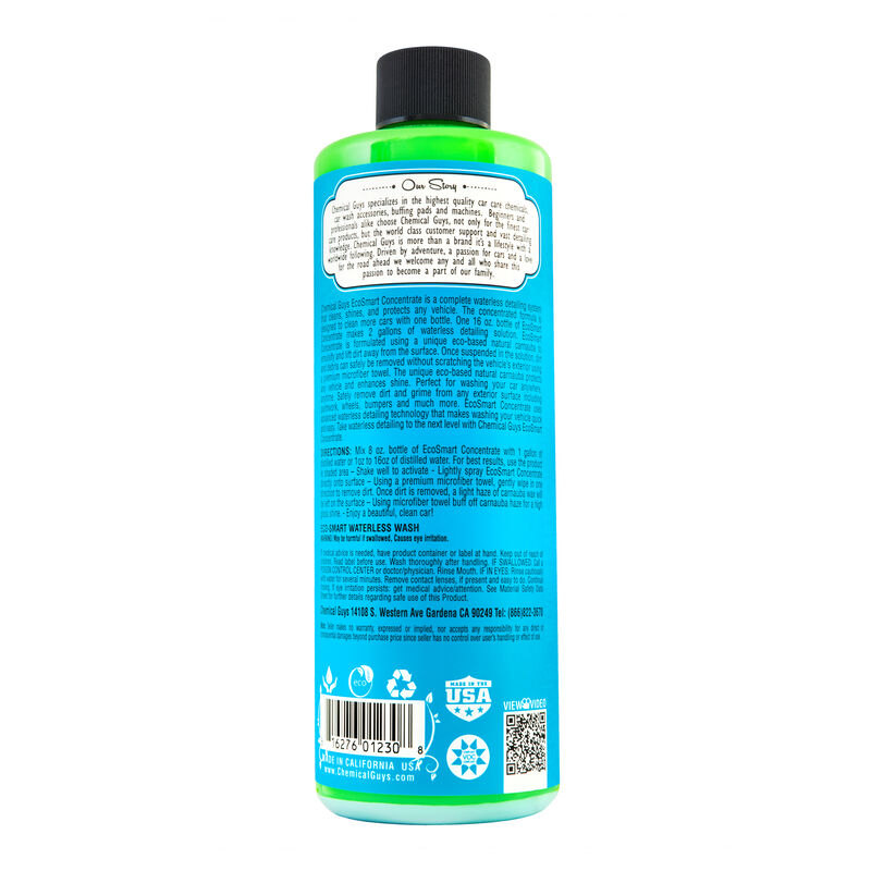EcoSmart Waterless Car Wash & Wax Concentrate