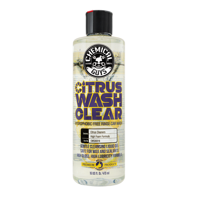 Citrus Wash Clear Paintwork Shampoo & Gloss Enhancer