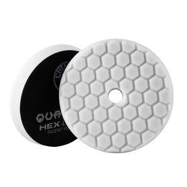White Hex-Logic Quantum Light-Medium Polishing Pad