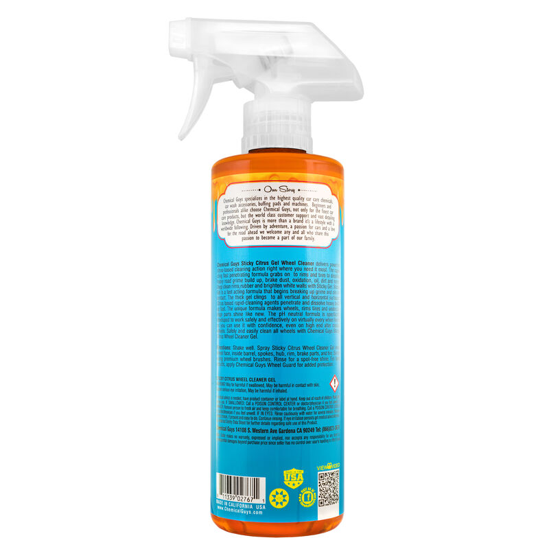 Sticky Citrus Wheel Cleaner Gel