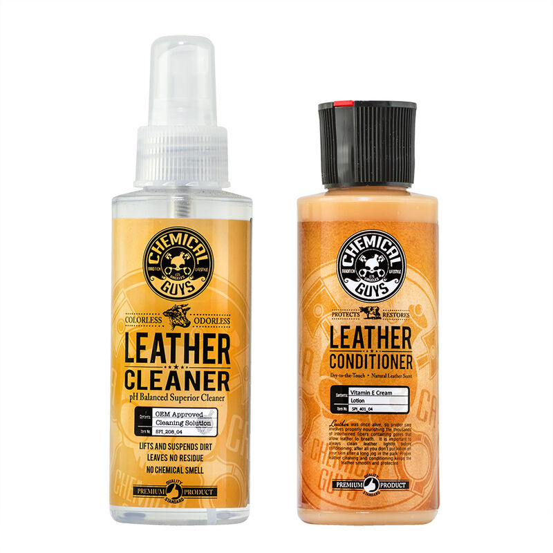 Leather Cleaner & Conditioner Sample Kit