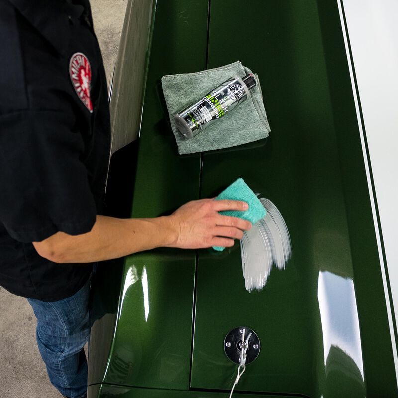 Slick Finish Cleaner Wax Light Paint Cleanser & Brilliant Shine Carnauba Wax