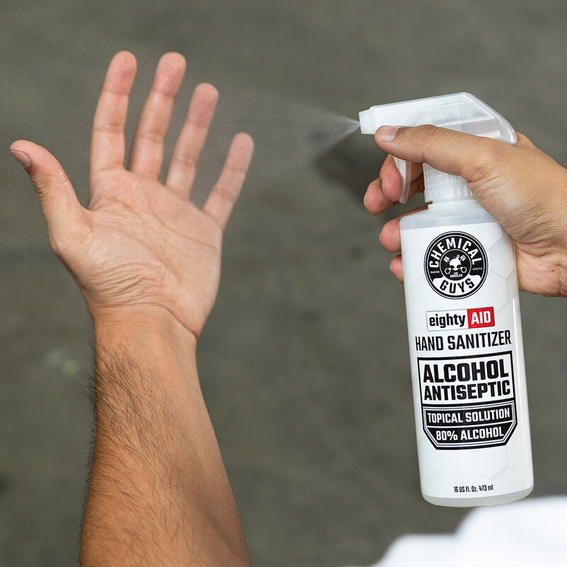 EightyAID Hand Sanitizer Alcohol Antiseptic 80% Topical Solution slider image 3