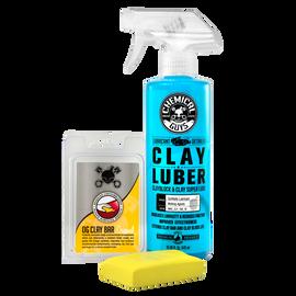 OG Clay Bar & Luber Synthetic Lubricant Kit, Light/Medium Duty