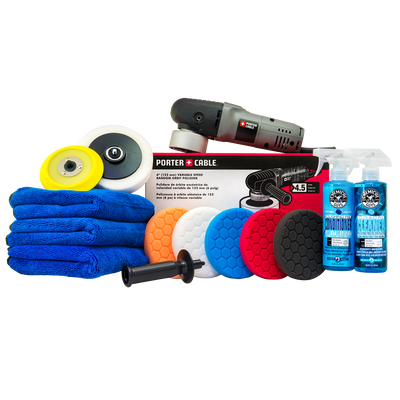 Porter Cable 7424XP Complete Detailing Kit (13 Items)