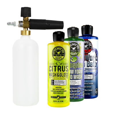 MTM Next Generation Professional Foam Cannon & 3 Premium Soaps