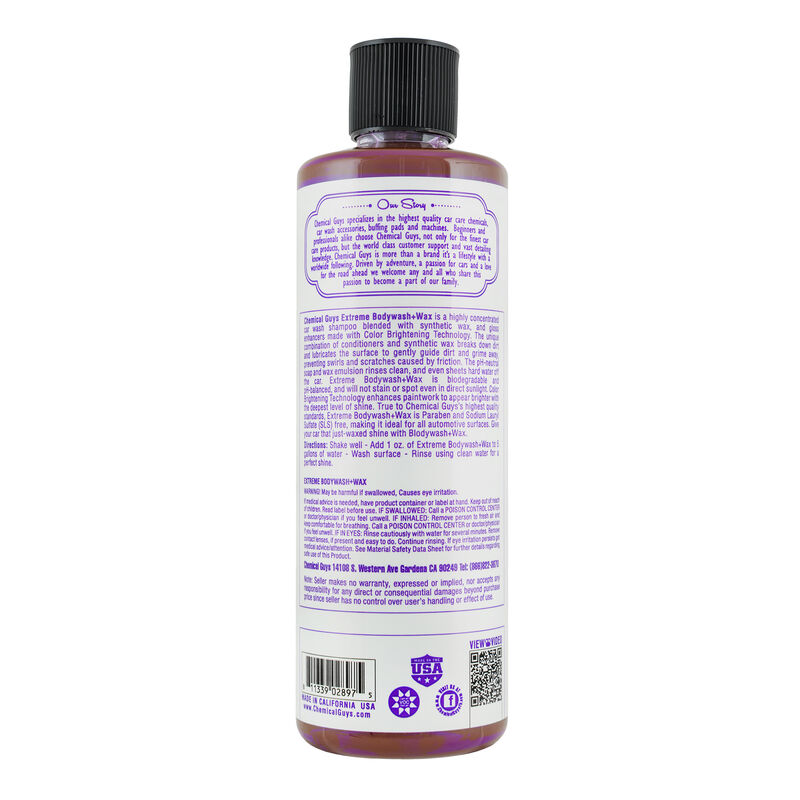 Extreme Body Wash Plus Wax slider image 7