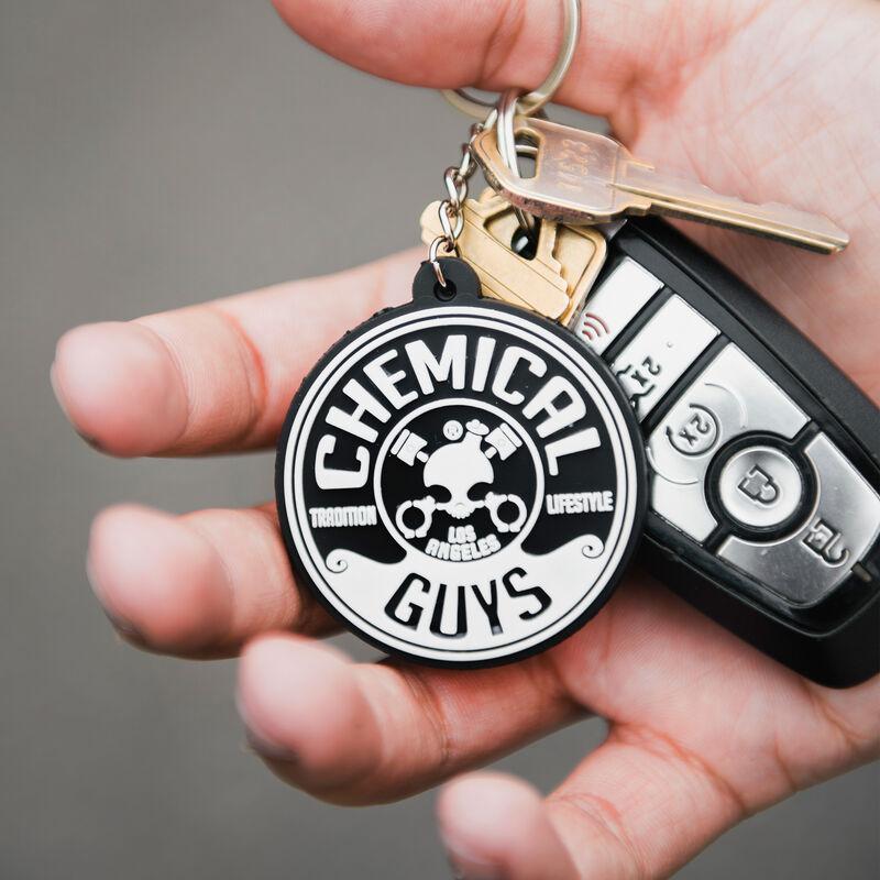 Pocket Rubber Keychain
