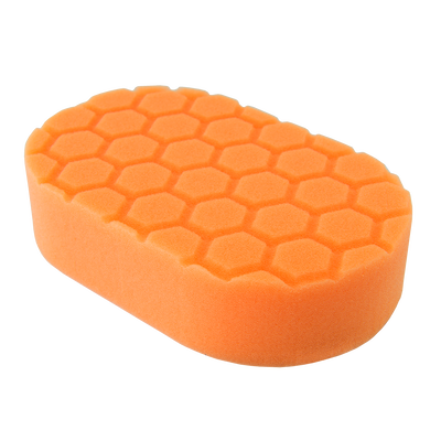 Hex Logic Orange Cutting Hand Pad