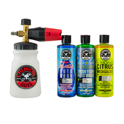 TORQ Big Mouth Foam Cannon & 3 Premium Soaps