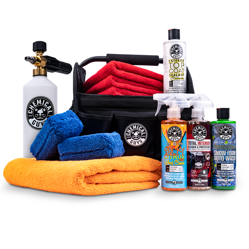 Quick Load Mobile Foam Cannon Wash & Protect Detailing Kit