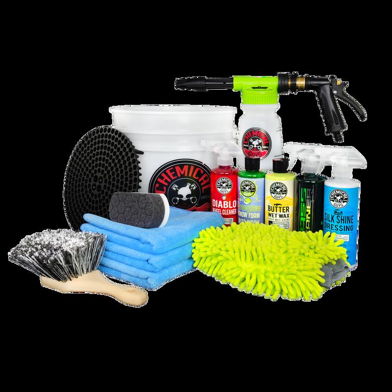 Arsenal Builder Car Wash Kit With TORQ Foam Blaster & Bucket