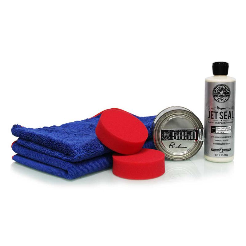 JetSeal Paint Sealant & 5050 Paste Wax Protection Kit