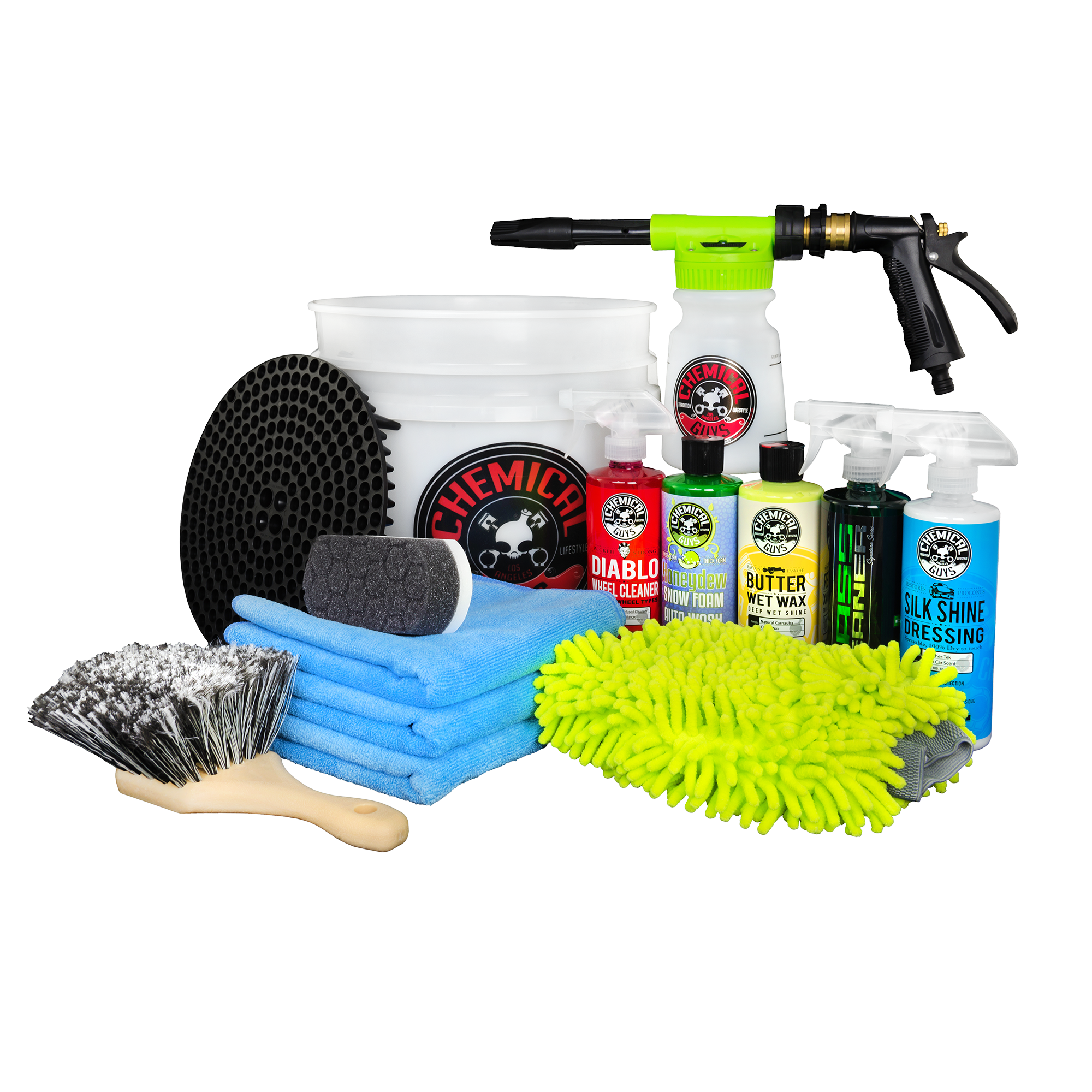 welcome to chemical guys auto detail supplies and car carearsenal builder car wash kit with torq foam blaster \u0026 bucket