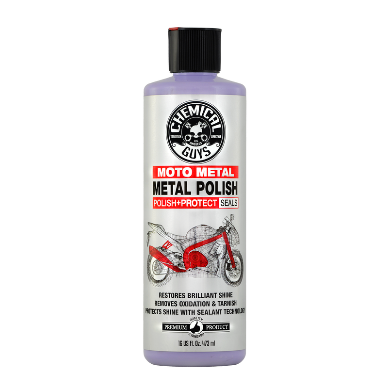 Moto Metal Polish Cleaner, Polish & Protectant for Motorcycles slider image 1