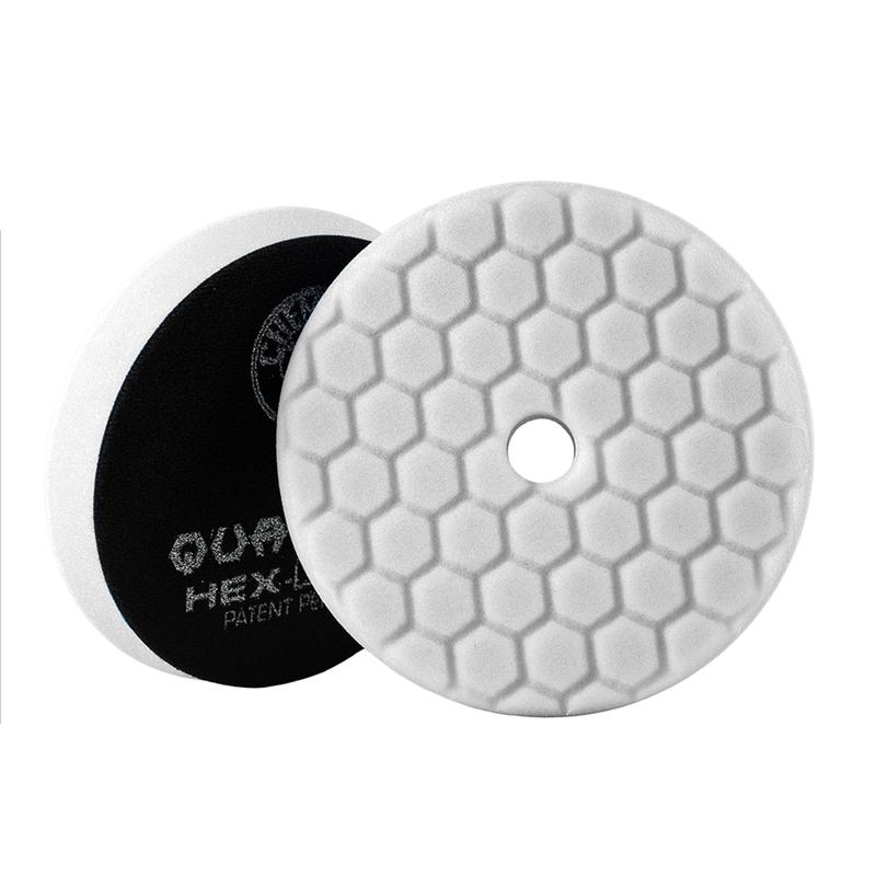 White Hex-Logic Quantum Car Polishing Pad, 6 Inch - Chemical Guys