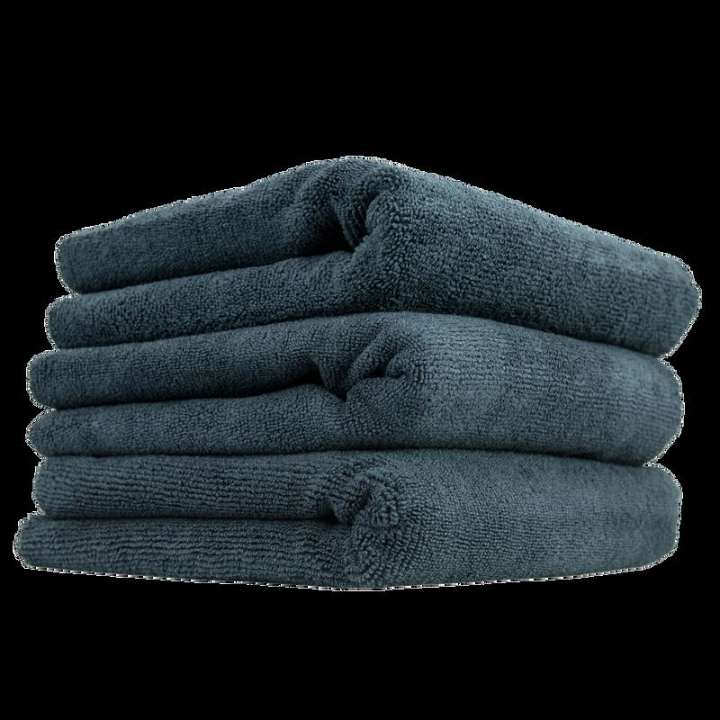 Monster Edgeless Microfiber Towel For Car Wash, Black, 3 Pack | Chemical Guys