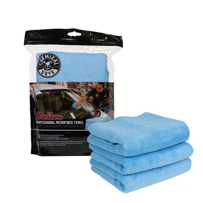 Workhorse Professional Grade Microfiber Towel 3 Pack