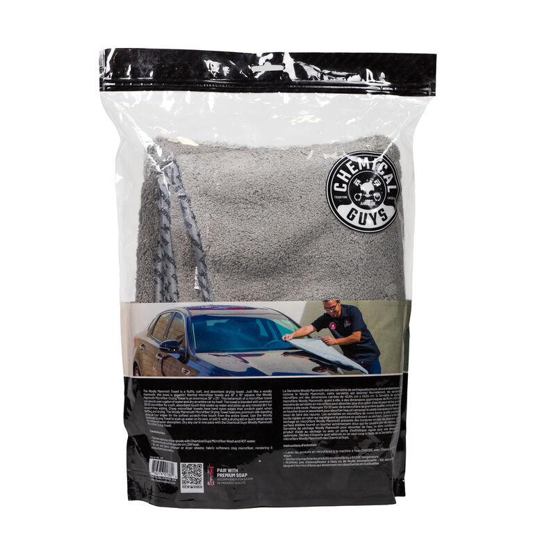 "Woolly Mammoth Microfiber Dryer Towel, 36"" x 25"" slider image 5"