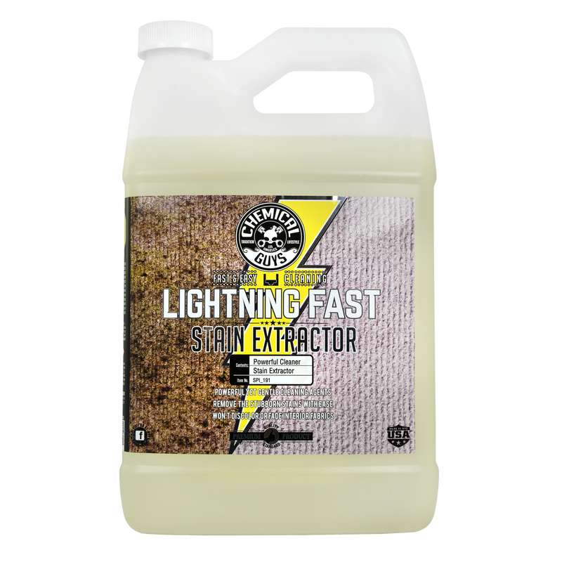 Lightning Fast Stain Extractor for Fabric