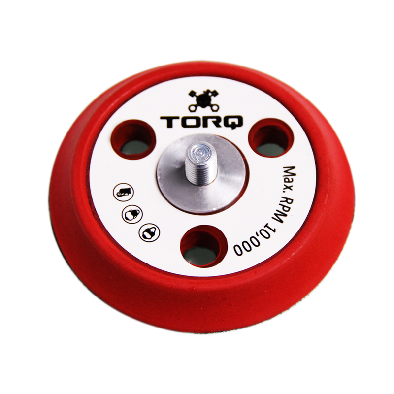 TORQ R5 Dual Action Backing Plate with Hyper Flex Technology