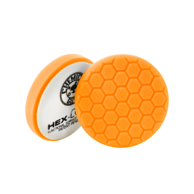 Orange Hex-Logic Medium-Heavy Cutting Pad